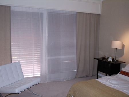 Cortinados dise o de cortinados y cortinas fernando clausen - Cortinas de gasa ...